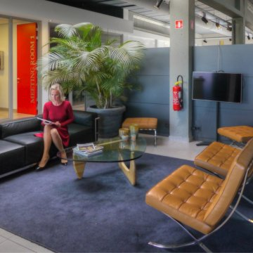 Co-working dans un loft industriel<br/> a anvers